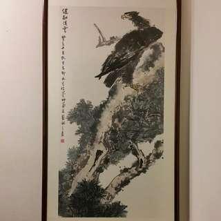 中国厦门畫家,林岑,健翮凌云