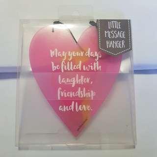 Positive Ideas - Little Message Hanger