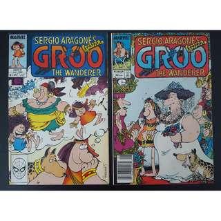 Groo the Wanderer #41,#42 (1988 Marvel)- Set of 2, By Sergio Aragones!