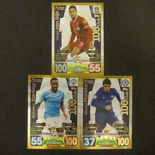 17/18 Match Attax Extra 100 Club
