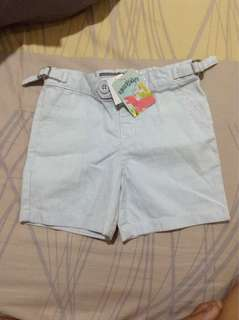 Gingersnaps baby blue short  new with tag