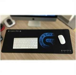 Logitech super long mouse pad / keyboard pad