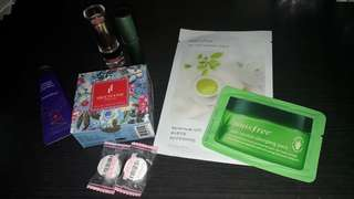 Produk Istimewa take all lengkap ( lipstick , bedak , masker , handcream , parfume , serum )