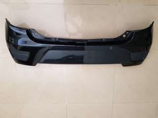 Perodua Axia G Spec Rear Bumper with color(used)