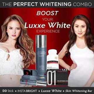 Luxxe Whitening Combo Set