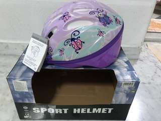 Lovely safety sport helmet