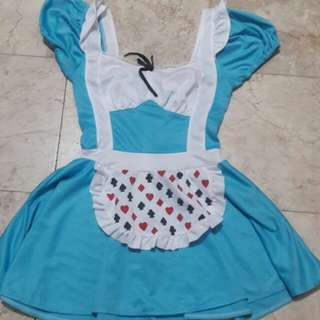 For Sale Lolita Alice in wonderland cosplay costume