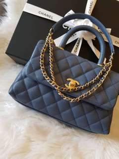 Authentic Brand New  Chanel Coco handle in mini size