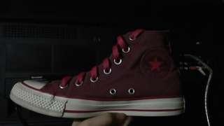 High Cut Pink Converse