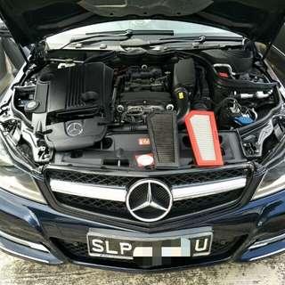 Mercedes C200 Cgi Hurricane Air Filter