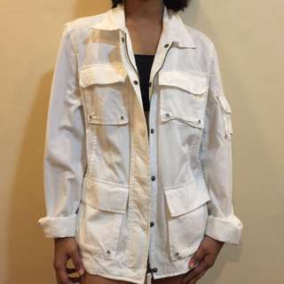 Off White Cover Up/Jacket