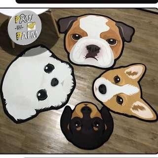 Dog designed carpets