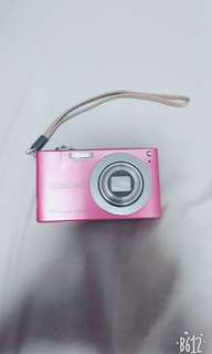 Pink Casio Exilim Digital Camera
