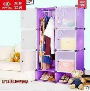 6 Cubes DIY Cabinet