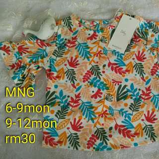 MNG BABYGIRL FRILL TEE