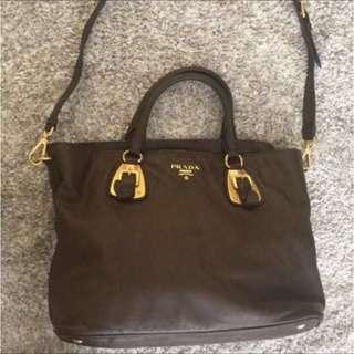 Prada Tote Bag full leather 100% authentic