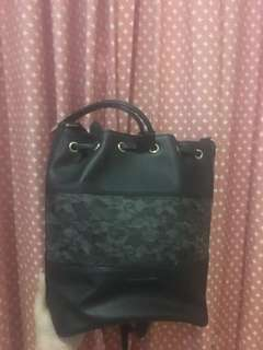 charles and keith lace bag