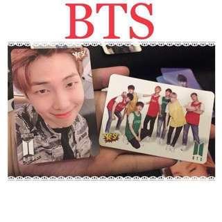 ❗️BTS❗️yes card yes卡 RM/Jhope/全員