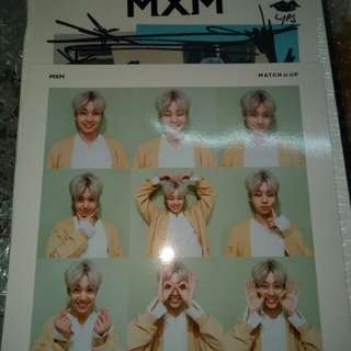WTT MXM MATCH UP ALBUM STANDEE / POLAROID STICKER