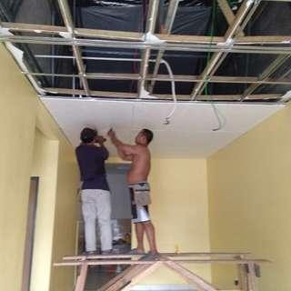 Pemasangan plaster siling 0199427966