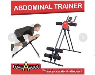 Abdominal trainer / indoor /outdoor home Gym foldable