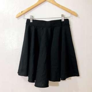 Black & Pink Skater Skirt