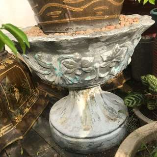 Vintage old flower pot one pair $95
