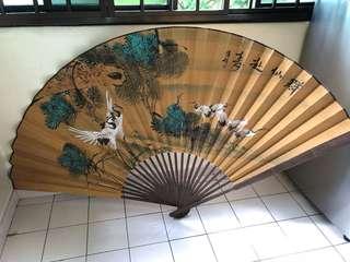 Huge Antique Fan