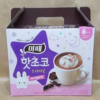 🚚 現貨 韓國 MITTE 米特 漂浮兔兔棉花糖 熱可可粉 熱巧克力