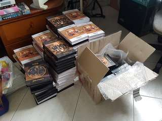 W1 IPU GO/fansign albums ready for collection