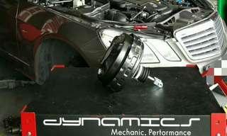 Mercedes E200 : Brake Booster Pump Replacement