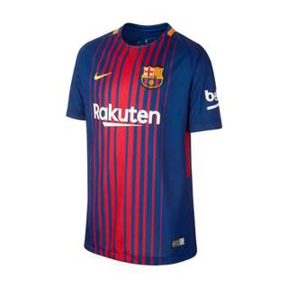Official 2017/18 FC Barcelona Home Jersey (M)