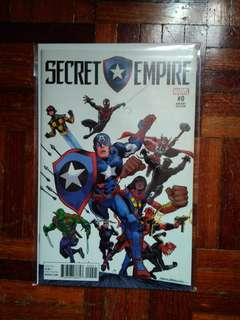 Marvel Secret Empire Isu 0