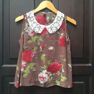 Preloved Floral Shirt