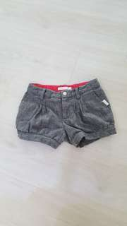 Labour Day promo!New GUESS Grey Shorts With Diamond Button (5year Old)