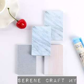 Marble &  Concrete Stone Memo Pad Sticky Note