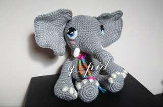 Elephant 🐘 - Amigurumi/crochet