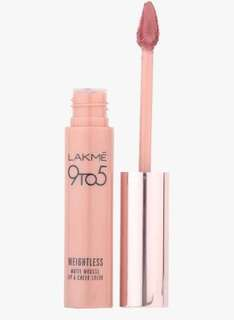 Lakme 9To5 Weightless Matte Mousse Lip and Cheek Color
