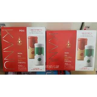 🚚 限量一組 KANU 聖誕限量版 孔劉 美式黑咖啡 無糖 大容量 1.6g 70入 MAXIM 贈保溫杯