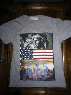 Grizzly gray t shirt