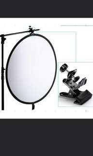 Lightdow Multifunctional Metal Clamp Clip Backgrounds Backdrops Reflectors Holder for Light Support Extension Arm Photo Studio holder clip clamp photography clip