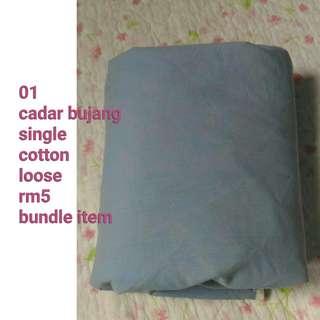 cadar/bedsheets bundle/terpakai as seen in pic