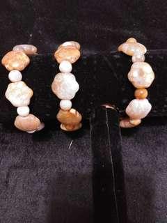 星星珊瑚玉手串8粒星8粒7.1mm圓珠1條200元