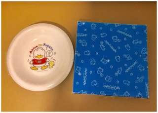** 分享 ** Sanrio Ahiru No Pekkle 鴨仔 1990 年 罕有 8 吋直徑陶瓷碟 (Made in Japan)