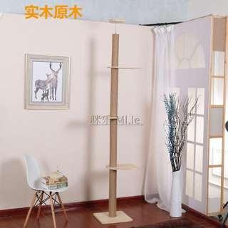{In Stock} Cat Condo CHC-W  100% Solid Wood