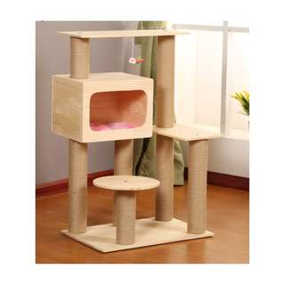 {Coming 24 Apr} 100% Solid Wood Cat Condo W189S