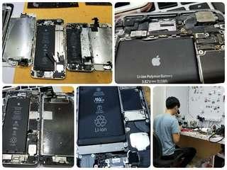 Iphone入水唔著機, 特快維修