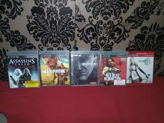 Ps3 Games (350 each)(P1,500 All)