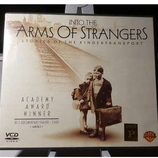 VCD - INTO THE ARMS OF STRANGERS: STORIES OF THE KINDERTRANSPORT (2000) oscar documentary history war