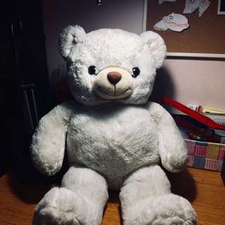 Preloved White Teddy Bear
